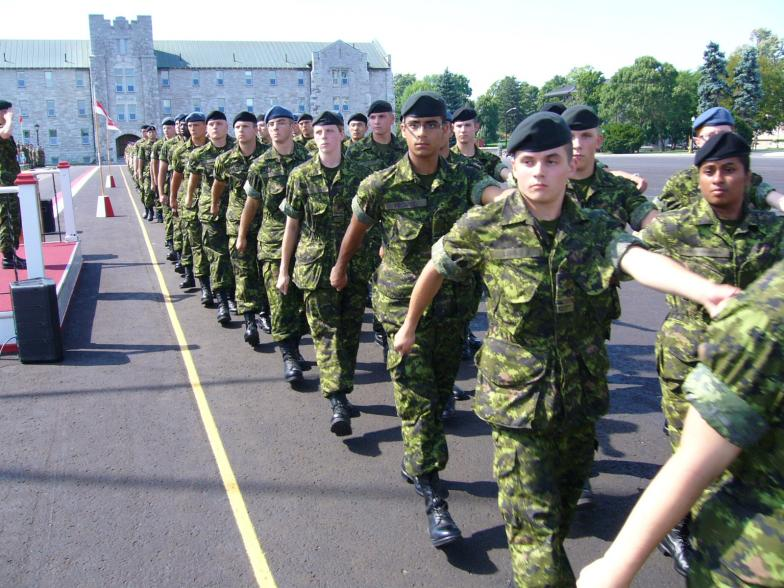 Cadets Marching
